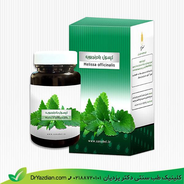 داروی گیاهی کپسول بادرنجبویه (نجابل)